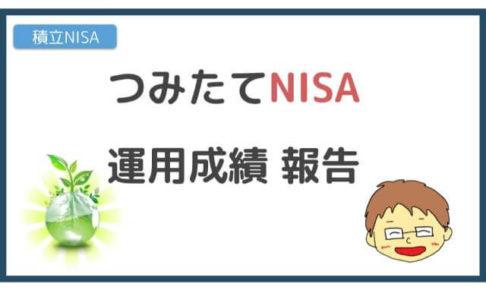 つみたてNISA運用成績報告